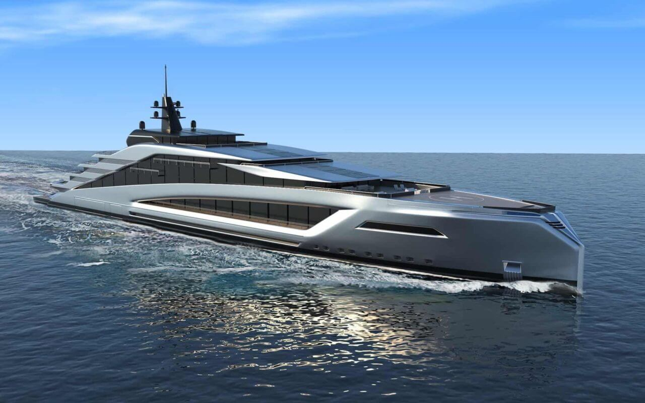 Architectural projects TKM Yacht